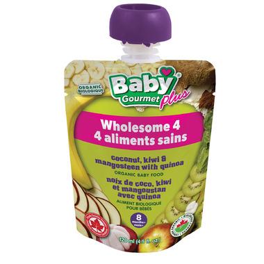 Baby Gourmet Plus Coconut, Kiwi & Mangosteen With Quinoa