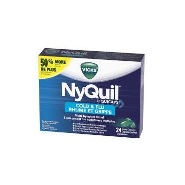 Vicks Cold & Flu Liquicaps