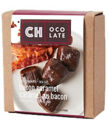 CH Ocolate Dark Chocolate and Sea Salt Bacon Caramels