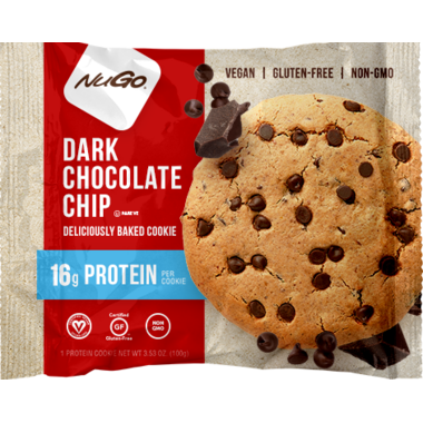 NuGo Protein Cookie Dark Chocolate Chip