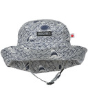 Snug As A Bug Shark Water Adjustable Sun Hat