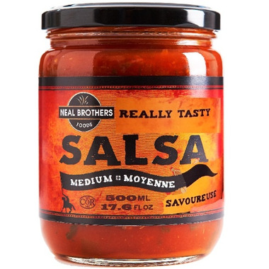 Neal Brothers All Natural Medium Salsa