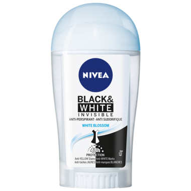 Nivea Invisible Black & White Antiperspirant Stick White Blossom