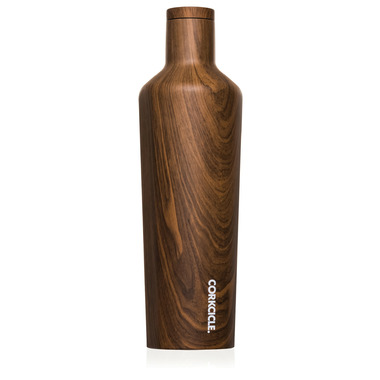 Corkcicle Canteen Walnut Wood