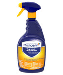 Microban 24 Hour Bathroom Cleaner and Sanitizing Spray Citrus Scent