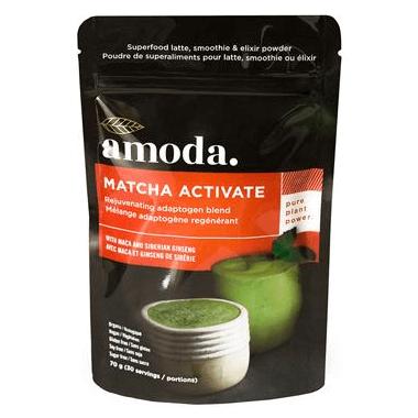 Amoda Matcha Activate Rejuvenating Blend with Maca & Siberian Ginseng