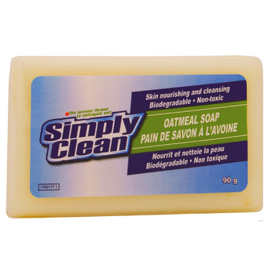 Simply Clean Oatmeal Soap Bar