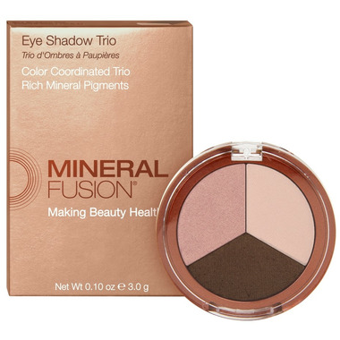 Mineral Fusion Eye Shadow Trio Rose Gold