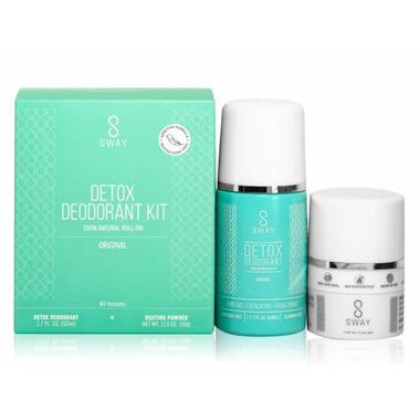 Sway Detox Deodorant Kit Original Sensitive