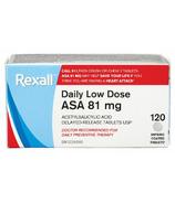 Rexall Daily Low Dose ASA