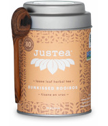 JusTea Loose Leaf Herbal Tea Sunkissed Rooibos