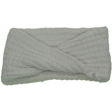 Calikids Cotton Knit Infinity Scarf White Allyssum
