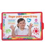 Alex Jr. Finger Paint Paper & Tray