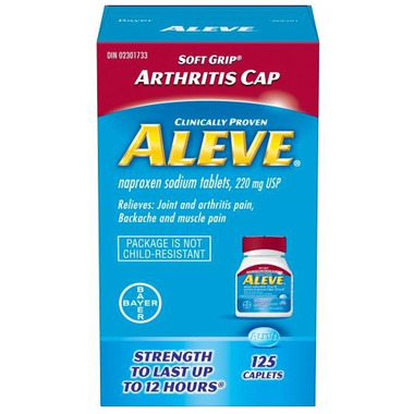 Aleve 220 mg Arthritis Cap Large Bottle