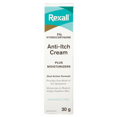 Rexall Anti-Itch Cream Plus Moisturizers