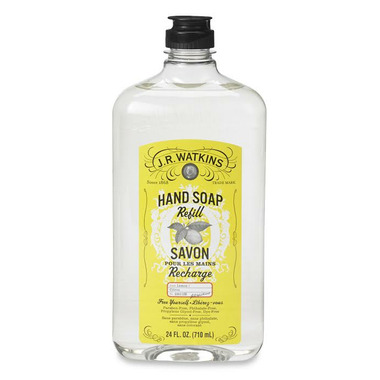 J.R. Watkins Liquid Hand Soap Refil Lemon
