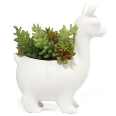 Kikkerland Llama Planter