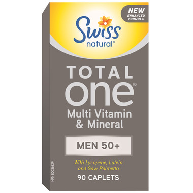 Swiss Natural Total One Multi Vitamin & Mineral Men 50+