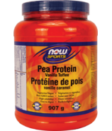 NOW Sports Pea Protein Powder Vanilla Toffee