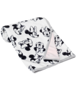 Lambs & Ivy Minnie Mouse Minky Jersey Blanket