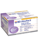 "BD Ultra-Fine 0.3ML 30G 8MM Syringe (5/16"")"