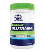 PVL 100% Pure Glutamine Blue Raspberry