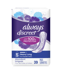 Always Discreet Heavy Long Incontinence Pads