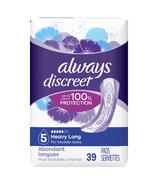 Serviettes pour incontinence Always Discreet Heavy Long