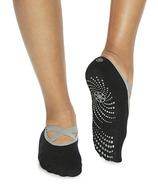 Gaiam Studio Select Chaussettes de Yoga-Barre noires