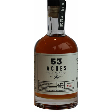 53 Acres Organic Golden Maple Syrup