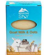 Mountain Sky Goat Milk & Oats Bar Soap