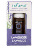 Therawell 100% Pure Lavender Essential Oil