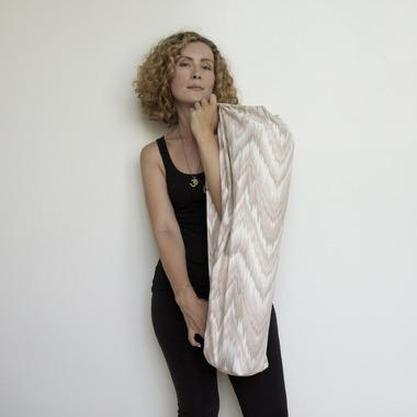 Samyoga Handmade Yoga Mat Bag Pink Blush