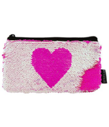 Fashion Angels Magic Sequin Reveal Pouch Pink Heart
