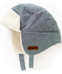 Juddlies Winter Hats Herringbone Grey