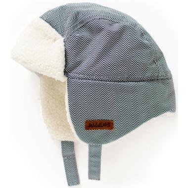 Juddlies Winter Hats Herringbone Grey