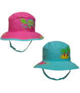 Calikids Reversible Summer Hat Turtle & Tropical Island