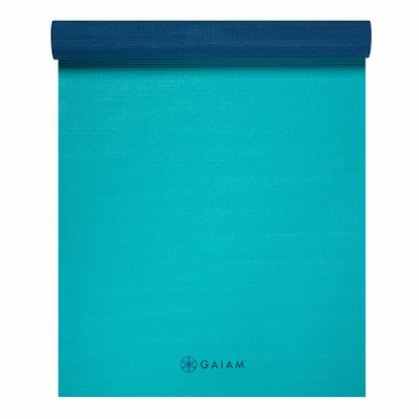 Gaiam Classic Reversible Yoga Mat Open Sea