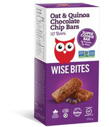 Wise Bites Oat & Quinoa Chocolate Chip Cookie Bars