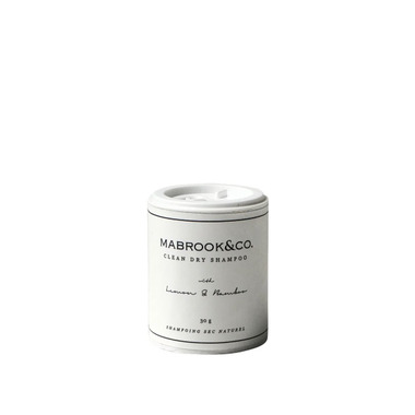 Mabrook & Co. Clean Dry Shampoo Travel Size Lemon & Bamboo