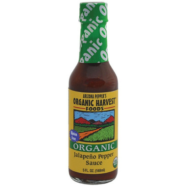 Arizona Pepper\'s Organic Harvest Jalapeno Pepper Sauce