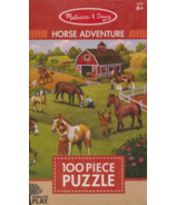 Melissa & Doug Natural Play Jigsaw Puzzle Horse Adventure