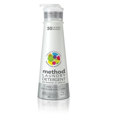 Method Laundry Detergent Free + Clear