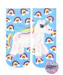Living Royal Ankle Socks Unicorn Pinata Glitter