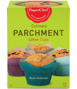 PaperChef Parchment Lotus Baking Cups Multi Coloured