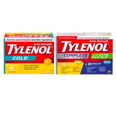 Tylenol Cough, Cough & Flu Relief Bundle