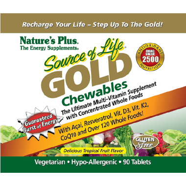 Nature\'s Plus Source of Life GOLD Multi-Vitamin Supplement