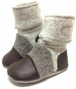 Nooks Design Booties Driftwood