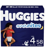 Couches pour bébé de nuit Huggies Overnites
