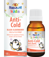 MapleLife Anti-Cold Black Elderberry Cold & Flu Syrup for Children